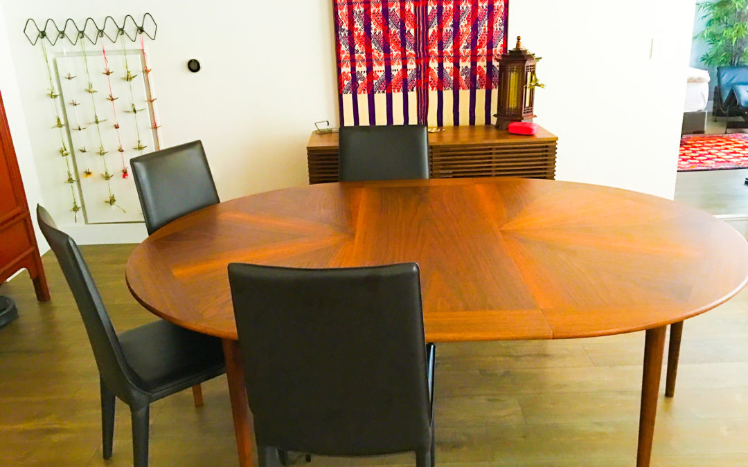 Glenn of California: Our Midcentury Dining Table, an Aesthetic and Functional Art Piece